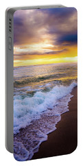 Portable Battery Charger featuring the photograph Majestic Sunset In Paradise by Shelby Young