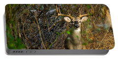 Majestic Whitetail Portable Battery Charger