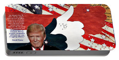 Make America Great Again - President Donald Trump Portable Battery Charger
