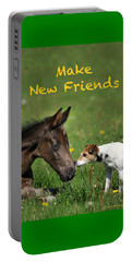 Make New Friends Portable Battery Charger