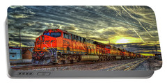 Make Way Resting B N S F Train Gallup New Mexico Art Portable Battery Charger