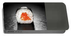 Maki Sushi Roll With Salmon Portable Battery Charger