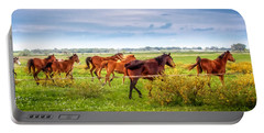 Portable Battery Charger featuring the photograph Making A Diner Run by Melinda Ledsome