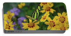 Malachite Butterfly Portable Battery Charger