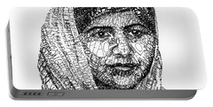 Malala Yousafzai Portable Battery Charger