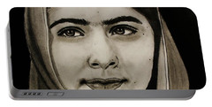 Malala Yousafzai- Teen Hero Portable Battery Charger
