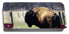 Male Bison Portable Battery Charger