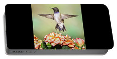 Male Black-chinned Hummingbird Portable Battery Charger