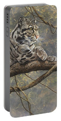 Male Clouded Leopard Portable Battery Charger