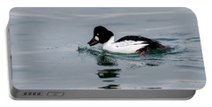 Male Common Goldeneye Portable Battery Charger