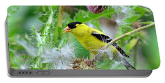 Male Goldfinch Portable Battery Charger