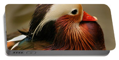 Male Mandarin Duck China Portable Battery Charger