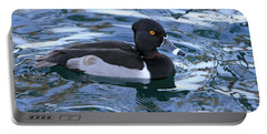 Male Ring-necked Duck  Portable Battery Charger by Shoal Hollingsworth