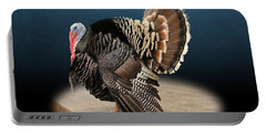 Male Turkey Strutting Portable Battery Charger