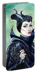 Maleficent Portable Battery Charger by Jimmy Adams
