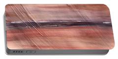 Malibu #32 Seascape Landscape Original Fine Art Acrylic On Canvas Portable Battery Charger