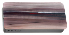 Malibu #33 Seascape Landscape Original Fine Art Acrylic On Canvas Portable Battery Charger