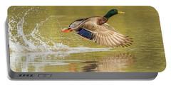 Mallard Duck 1952-112017-2cr Portable Battery Charger
