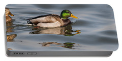 Mallards And Reflection Portable Battery Charger