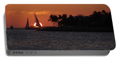 Mallory Square Sunset 2018 Portable Battery Charger