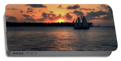 Mallory Square Sunset - Key West Portable Battery Charger