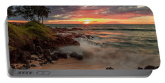 Maluaka Beach Sunset Portable Battery Charger