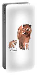 Mama And Baby Series Bear Portable Battery Charger