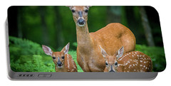 Mama And Fawns Portable Battery Charger