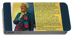 Mama Frances Cress Welsing Portable Battery Charger