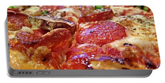Portable Battery Charger featuring the photograph Mama Lido's Pizza by Robert Knight