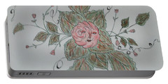 Mama Rose And Her Babies Portable Battery Charger by Sharyn Winters