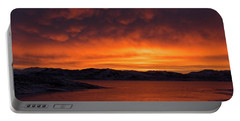 Mamantus Clouds Over Wildhorse Reservoir, Nv Portable Battery Charger