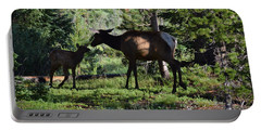 Elk Calf - Mother Rmnp Co Portable Battery Charger