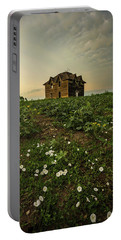 Portable Battery Charger featuring the photograph Mammatus And Flowers  by Aaron J Groen