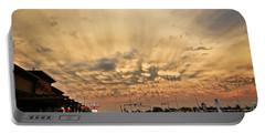 Mammatus Over Yorkton Sk Portable Battery Charger