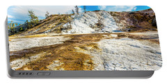 Mammoth Hot Springs Yellowstone Portable Battery Charger