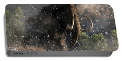 Mammoth In A Blizzard Portable Battery Charger