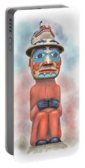 Man From Bear Clan Portable Battery Charger
