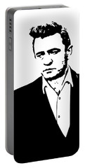 Man In Black Minimal Portable Battery Charger