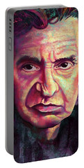 Man In Black Portable Battery Charger