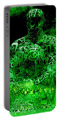 Man In Green Portable Battery Charger
