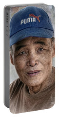 Man In The Cap Portable Battery Charger