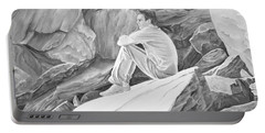 Man On The Rocks II Portable Battery Charger