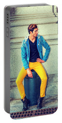Man Street Fashion Portable Battery Charger