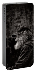 Man With A Beard Portable Battery Charger