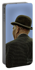 Man With A Bowler Hat Portable Battery Charger
