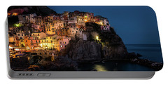 Manarola At Night Portable Battery Charger