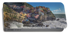 Manarola In Cinque Terre  Portable Battery Charger