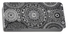 Mandala Bouquet Portable Battery Charger