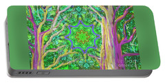 Mandala Forest Portable Battery Charger